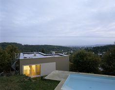 Anna Wickenhauser Architektur  Haus H-M  Graz/A Privathaus Style At Home, Wicken, Anna, Mansions, House Styles, Home Decor, Graz, Architecture, House