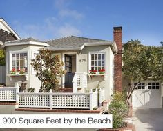A tiny but charming little house in Laguna Beach, beautifully restored.