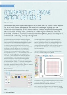 Kennismaken met Janome Artistic Digitizer 1.5