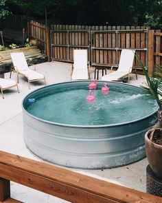 DIY Stock Tank Pool: Everything you need to know   Hey Wanderer
