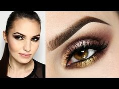 Garden of Eden palette makeup. Beauty Nails, Hair Beauty, Brows, Lashes, Sleek Makeup, Makeup Tutorials Youtube, Sea Dragon, Eye Tutorial, Fall Makeup