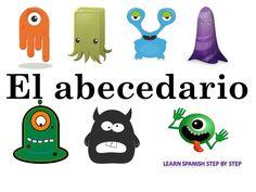 El abecedario - Alphabet in Spanish