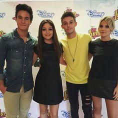 Michael, Karol, Ruggero e Valentina