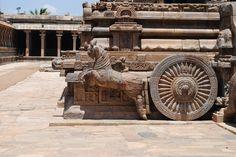 Part of the' Darasuram Temple,' Near Kumbakonam, Tamil Nadu, India