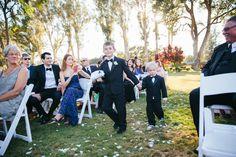 Adorable ring bearers | Wedding Photography | Sweetness & Light Photography