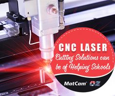 Looking to procure quality #CNCLaser #Cutting solution for your school? Get the same from Matcam at reasonable rates and backed by technical support.