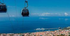 Teleférico do Monte na Ilha da Madeira #viagem #lisboa #portugal