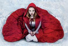 Amanda Seyfried as Red Riding Hood.