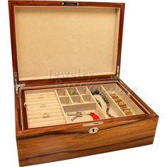 Seya Espresso Jewelry Box Jewelry Boxes furniture Pinterest