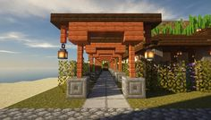 Edi Edi - Explore the best and the special ideas about Minecraft Houses Minecraft Legal, Plans Minecraft, Villa Minecraft, Minecraft Cottage, Minecraft Building Guide, Minecraft Structures, Minecraft Room, Minecraft Blueprints, Minecraft Architecture