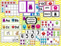 Kroger's Kindergarten: Monster fun