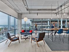A Tour of HBO's Cool New Seattle Office - Officelovin'