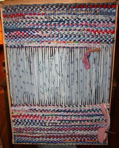 44 Best Diy Rug Looms Images Yarns Weaving Dressmaking