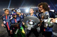 EN IMAGES. La PSG célèbre son titre et son histoire