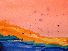 Original watercolor - gkstutz
