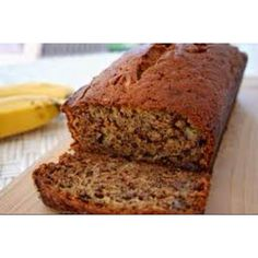 Amazing Banana Bread Recipe. Very moist!!!   2 bananas 1/2 cup olive oil 2 eggs, whisked 1 1/2 cup sugar 1/4 cup sour cream 1 1/2 cup wheat flour 1 tsp baking soda 1 tsp vanilla 1/4 tsp salt  Preheat oven to 325.  Grease pan.  Add ingredients to large mixing bowl in order listed above.  Stir after adding each ingredient.  Bake for 1 hour 10 minutes.  Tip: This bread tastes best when you use almost rotten bananas. Freeze the bananas as they start to go bad.  When you are reading to bake…