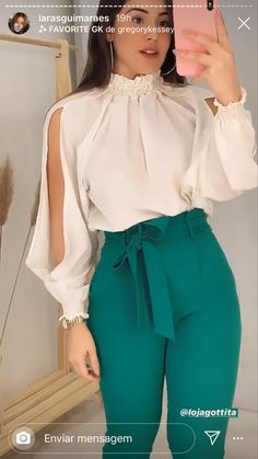 Office Outfits Women, Stylish Work Outfits, Modest Outfits, Chic Outfits, Fashion Outfits, Womens Fashion, Girls Fashion Clothes, Clothes For Women, Work Fashion