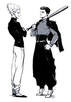 One Punch Man - Garou&Metal Bat