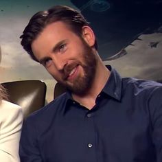 So cute - Chris Evans