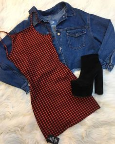 Teen Fashion Outfits, Edgy Outfits, Retro Outfits, Cute Casual Outfits, Outfits For Teens, Dress Outfits, Fall Outfits, Party Fashion, Fashion Dresses