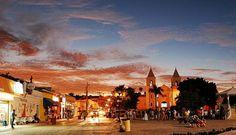 ♥ City of San Jose del Cabo at night