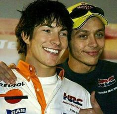 Nicky Hayden and Valentino Rossi - Repsol Honda