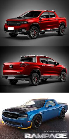 What If The Ram Dakota Looked Like This? A sporty truck with a Hemi engine sounds great to us. Dodge Trucks, 4x4 Trucks, New Dodge, Dodge Models, Hemi Engine, Dodge City, Jeep Renegade, Motorcycle Bike, Concept Cars