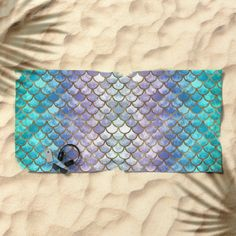 Pretty Mermaid Scales Beach Towel by artlovepassion Mermaid Towel, Mermaid Room, Pretty Mermaids, Unicorns And Mermaids, Mermaid Tails, Mermaid Scales, Mermaid Gifts, Lacey Chabert, Merfolk