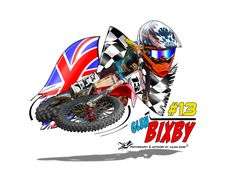 Custom cartoon caricature motocross designs for MX riders and the perfect gift with a difference Motocross Logo, Bike Drawing, Club Poster, Helmet Paint, Valentino Rossi, Cool Bikes, Cartoon Art, Caricature, Comic Art