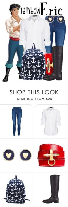 """""""Eric"""" by tallybow ❤ liked on Polyvore featuring Steffen Schraut, Brooks Brothers, Givenchy and Tory Burch"""