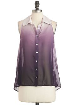 Lilac Festival Top, #ModCloth Available in plus sizes.