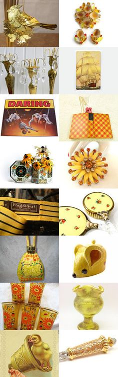 A Littlle Cheer to Brighten Your Day from the Vintage Vertigo Team by Anne on Etsy--Pinned with TreasuryPin.com