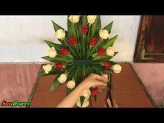 Funeral Floral Arrangements, Creative Flower Arrangements, Tropical Floral Arrangements, Christmas Floral Arrangements, Beautiful Flower Arrangements, Tropical Flowers, Beautiful Flowers, Flower Bouquet Diy, Bouquet Wrap