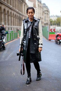 REINVENT YOURSELF: Paris Fashion Week SS 2013 - Street Style