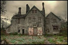 Residential Ruins - keep out!The abandoned and now ruined former care home in South Wales