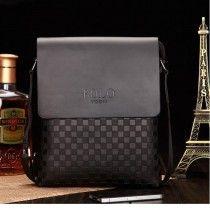 224856256999 Classic Fashion PU Leather Men Bag Messenger Bag Shoulder Bag BK Messenger  Bags