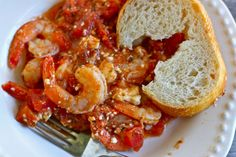 Saucy Greek Baked Shrimp recipe from PBS Food