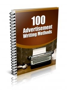100 Advertisement Writing Methods -   Grab people's attention and show them how they can benefit from your product or service!