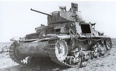 Knocked out / Abandoned M13/40 tank