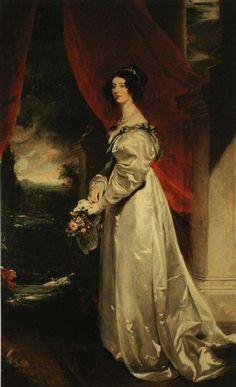Caroline Duchess of Richmond painting