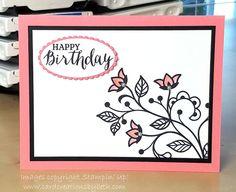 Card Creations by Beth: CAS Flourishing Phrases Birthday Card