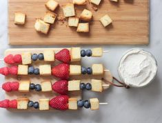 This is an adorable treat for the Fourth!