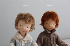 Eliott and Etienne by North Coast dolls