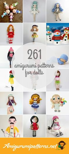261 Dolls Amigurumi Patterns