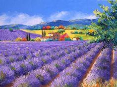 Paintings of Jean Marc Janiaczyk, France