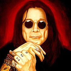 ozzy osborne concert with ted nugent Ozzy Osbourne, Artist Album, Different Kinds Of Art, Black Sabbath, Playing Guitar, Great Artists, Kinder Art, Heavy Metal, Rock Bands