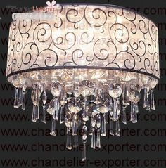 transitional chandeliers | Faux crystal hanging lighting in Chandeliers - Compare Prices