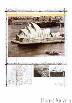 Christo und Jeanne-Claude - Wrapped Opera House (Sydney)