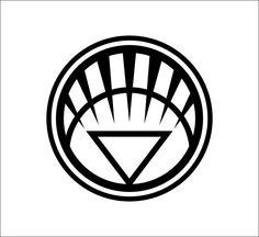 White Lantern Corps logo Vinyl Decal, DC Comics, Green Lantern #DecalDrama