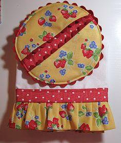 potholder & tea towel...cute set!
